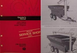 John Deere 310, 210 Auger Wagons Operator Manual - $12.00