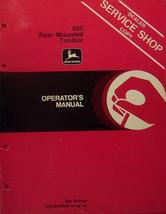 John Deere 800 Series Toolbars Operator's Manual - $12.00
