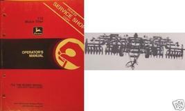 John Deere 712 Mulch Tiller Operator's Manual - $12.00