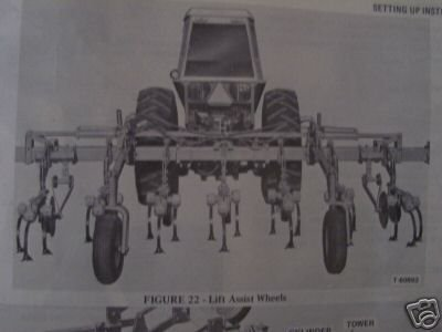 Primary image for Allis Chalmers 93, 95 Rear Mounted Cultivator Operator's Manual 1975