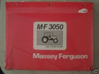 Primary image for Massey Ferguson 3050 Tractor Original Parts Manual