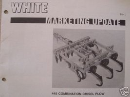 White 445 Chisel Plow Dealer Sales Booklet and Brochure - $7.00
