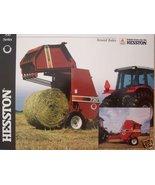 2001 Hesston 730,740 Round Balers Brochure - $7.00