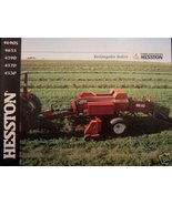 Hesston 4690S, 4655, 4590, 4570, 4550 Rectangular Balers Brochure - $6.00
