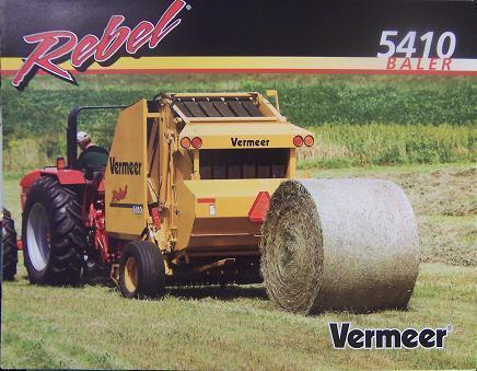 Vermeer 5500 rebel Manual