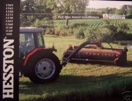 2001 Hesston Mower Conditioners Brochure - 1365,1345,1320,1275,1270,1265... - $7.00
