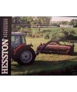 2001 Hesston Mower Conditioners Brochure - 1365,1345,1320,1275,1270,1265... - $7.00