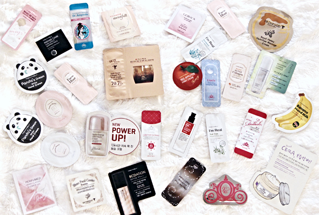 Primary image for 100-Piece Asian Beauty Mini Size Trials & Samples Pack Korean Skincare Sampler