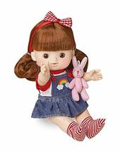Mimiworld Toritori Kids Cafe Girl Toy Doll with Rabbit Plush Collectible Figurin