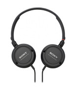 Sony MDR-ZX100 Stereo Headphones (Black)  - $27.99