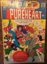 ARCHIE as CAPTAIN PUREHEART #6 (1967) Archie Comics VG+ - $9.89