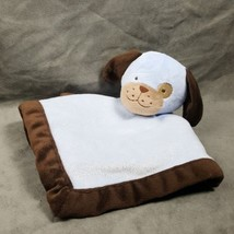 Tiddliwinks Blue Puppy Dog Baby Security Blanket Lovey  - $18.57