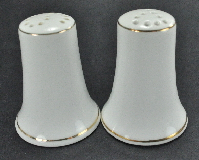 Kaysons Golden Rhapsody Wheat Design Salt Pepper Shakers Disc 1961