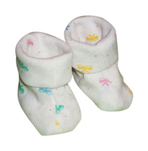 Primary image for Preemie & Newborn Girls Bows Booties for Babies