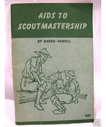 Boy Scouts of America Aids Scoutmastership Book Baden Powell Collector V... - $19.95