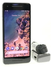 "Google Pixel 2 - 64GB | 4G LTE (FACTORY UNLOCKED) 5.0"" Smartphone - Black"