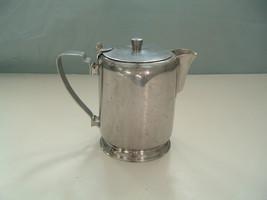 Vintage restaurant style adcraft creamer pitcher stainless steel made in... - $31.68