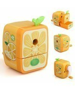 1 Manual Wrinkling Pencil Sharpener Desktop Stationery Children Roll Mil... - $8.79