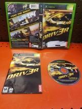 Driv3r (Driver 3)(Microsoft Xbox, 2004) CIB Complete  - $9.89
