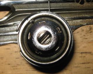 Montgomery Wards Model 188 Precision Round Bobbin Singer 15 Clone Face Plate