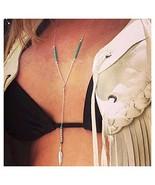 Drecode Boho Necklace Turquoise Leaf Dainty Beaded Pendant Sandbeach Lon... - $7.35