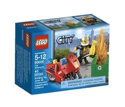 LEGO City Motorcycle 60000 - $26.63