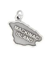 LGU® Sterling Silver Oxidized Mackinac Island Charm -with Options - $13.98+