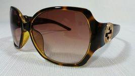 Gucci 3173 Women's Square Brown Tortoise Frame Sunglasses Brown Gradient... - $329.99