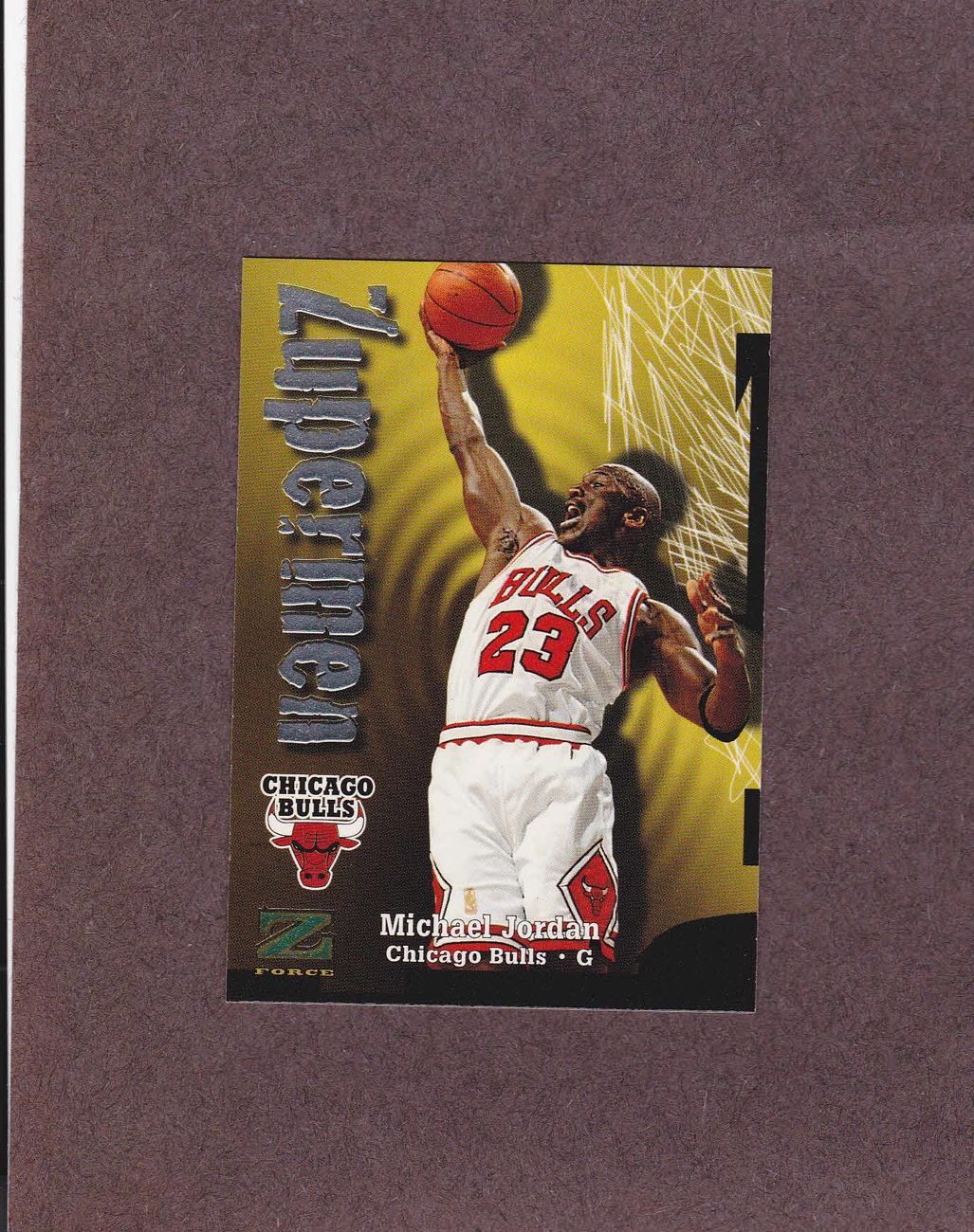 1997-98 Z Force # 190 Michael Jordan Chicago Bulls NM