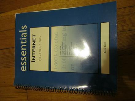 Internet Essentials by David Clark (1999, Hardcover, Subsequent Edition, Spiral)