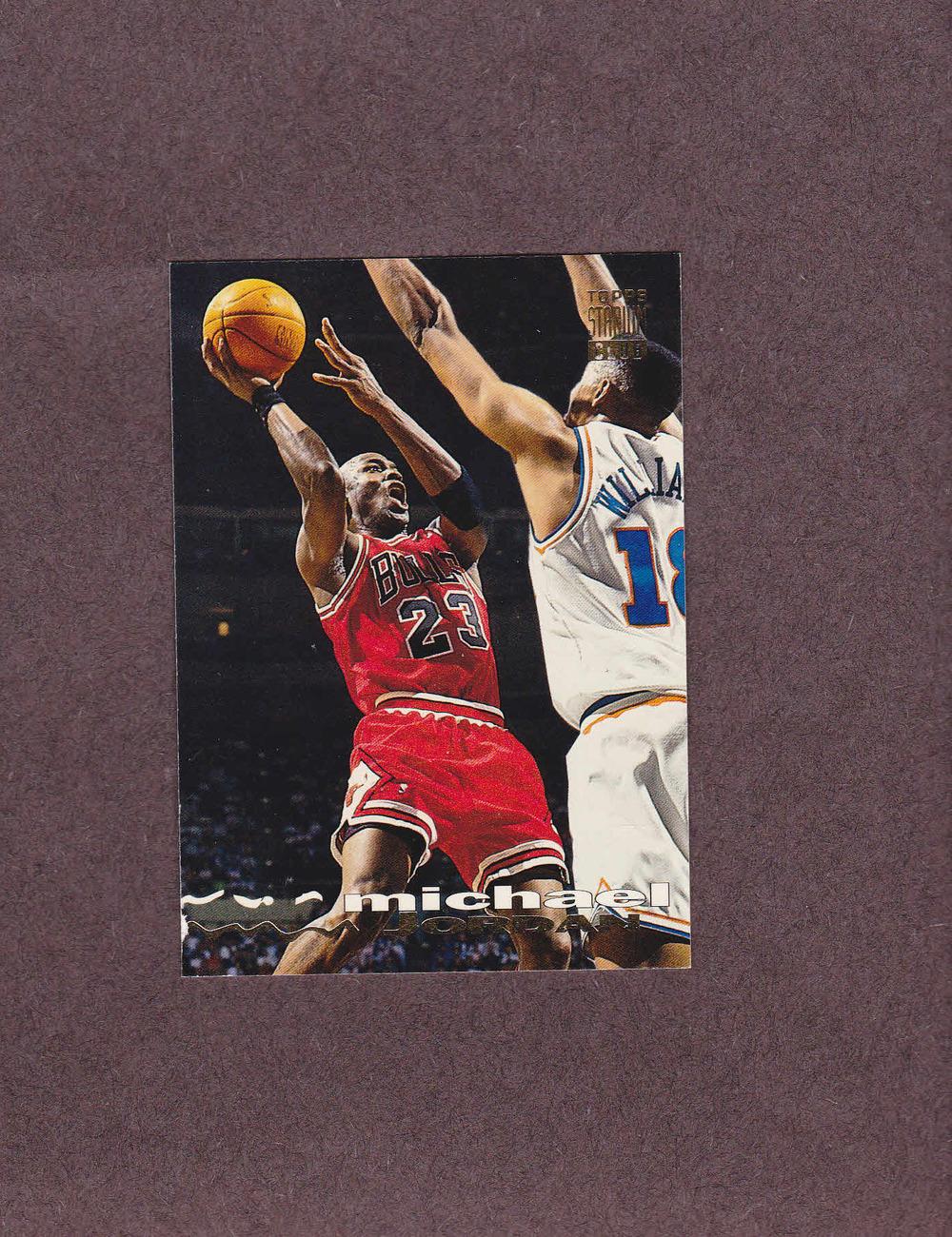 1993-94 Stadium Club # 169 Michael Jordan Chicago Bulls NM