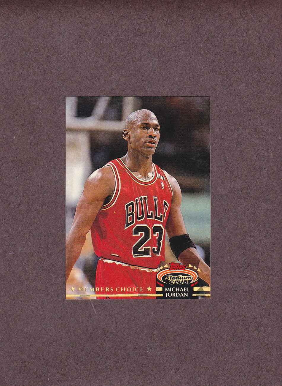 1992-93 Stadium Club # 210 Michael Jordan Chicago Bulls NM
