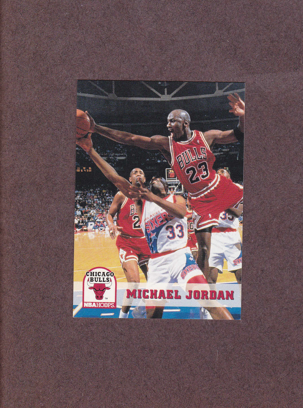 1993-94 Hoops # 28 Michael Jordan Chicago Bulls NM