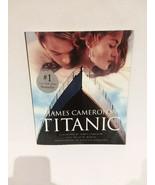 TITANIC: JAMES CAMERON MOVIE PHOTO BOOK - FREE SHIPPING - $14.03