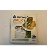 Yaktrax Walk Traction Cleats for Walking on Snow and Ice Glow in Dark Ne... - $18.99