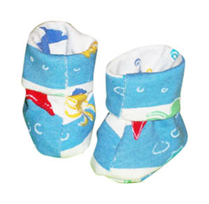 Primary image for Preemie & Newborn Boys Ocean Booties for Babies