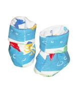Preemie & Newborn Boys Ocean Booties for Babies  - $8.00