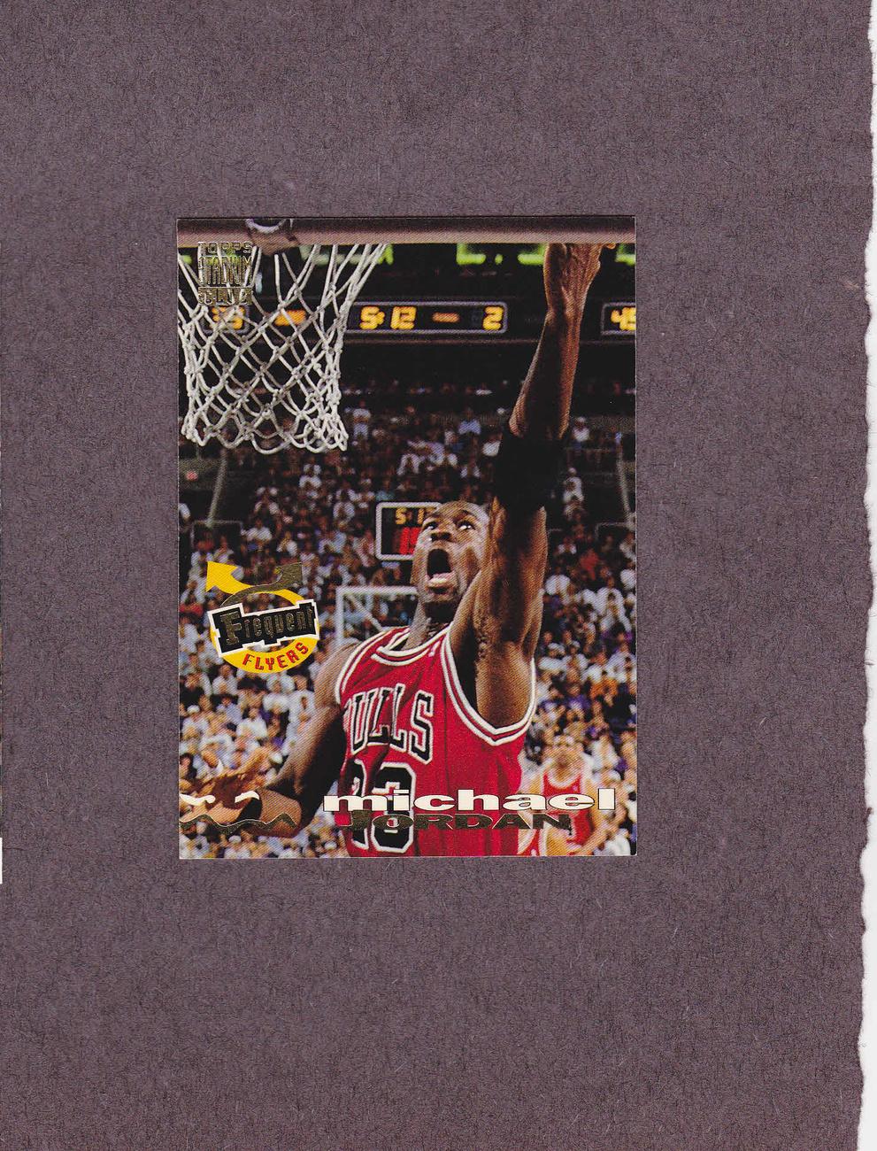 1993-94 Stadium Club # 181 Michael Jordan Chicago Bulls NM