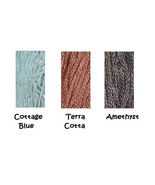 Fall 2013 GAST New Colors 3 skeins embroidery floss Gentle Art Sampler T... - $6.30