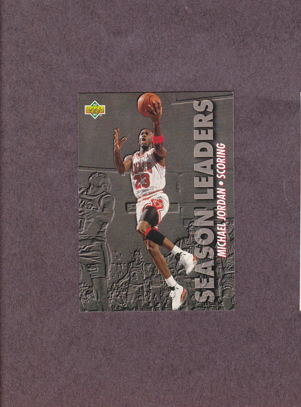 1993-94 Upper Deck # 166 Michael Jordan Chicago Bulls NM