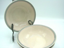 "Set of 3 Pfaltzgraff USA ""Aura Pink"" Soup / Cereal Bowls - 6"" Diameter L@@K!! - $9.49"