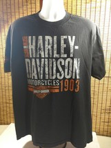 Mens Harley Davidson Cotton Shirt Bobbys Territorial HD Yuma AZ Live To ... - $18.95