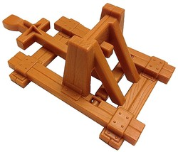 Crossbows and Catapults, 1983 Lakeside, Vikings Catapult (light brown / ... - $23.95