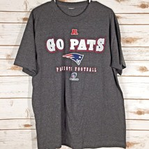 New England Patriots T-Shirt GO PATS Size Large NFL Football AFC Champions - $13.94