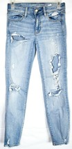 American Eagle Outfitters Super Stretch Jegging Ankle Skinny Jeans Size 0