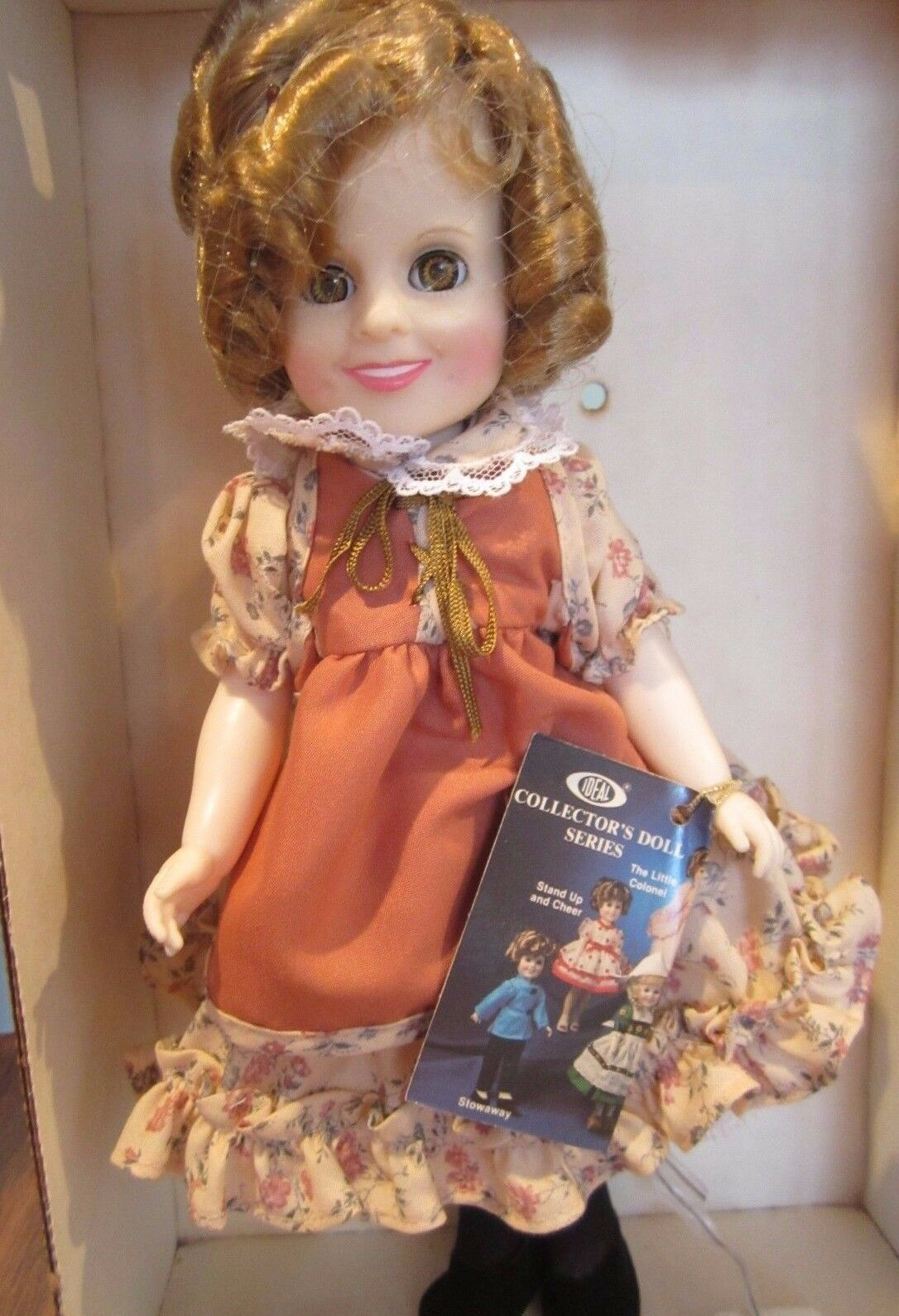 "Primary image for 1983 IDEAL 11"" SHIRLEY TEMPLE DOLL /"