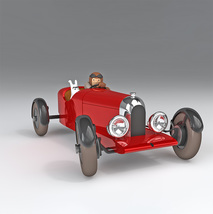 Soviet Amilcar 1/24 Voiture Tintin cars Official Tintin product