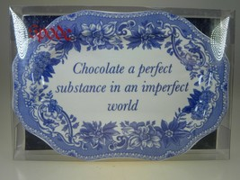 Spode Blue Room Mini Platter Chocolate Perfect Substance - $9.85