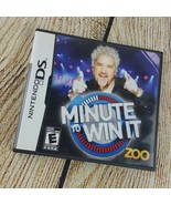Minute to Win It (Nintendo DS, 2010) - $6.92