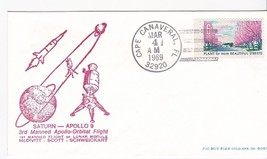 SATURN-APOLLO 9 ORBITAL FLIGHT CAPE CANAVERAL FL MAR 4 1969  - $2.98